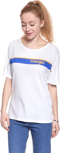 Wrangler Koszulka damska B&Y Trucker Tee White r. L (W724LG412)