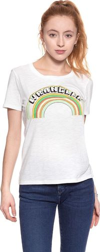Wrangler Koszulka damska Graphic Tee Offwhite r. L (W702RG902)
