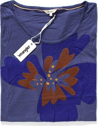 Wrangler Koszulka damska S/S Loose Tee Patriot Blue r. S (W7314FD5H)