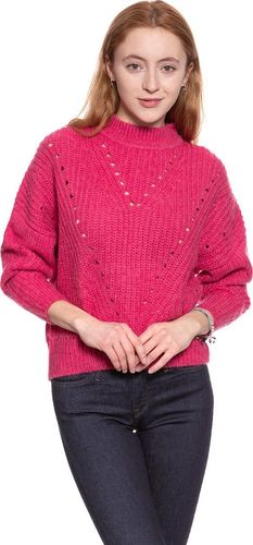 Wrangler WRANGLER CROP KNIT BRIGHT ROSE W8111PKVC L
