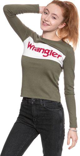 Wrangler WRANGLER INTARISA KNIT DEEP LICHEN GRN W800SPW1X M