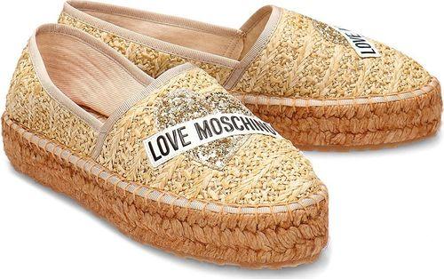 Love Moschino Buty damskie JA10413G0AJQ0107 złote r. 38