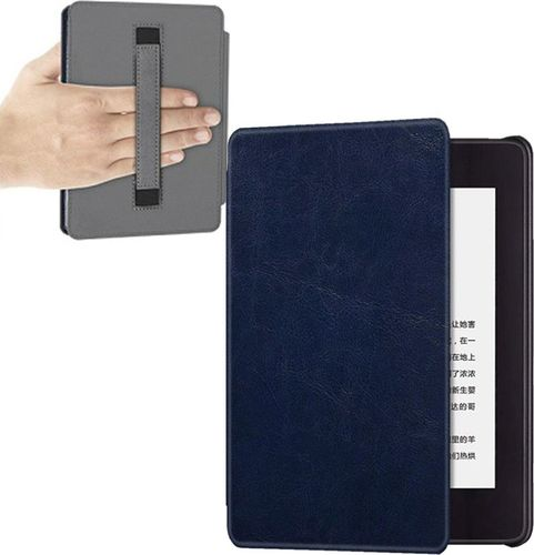 Pokrowiec Etui Strap Case Kindle Paperwhite 4 - Navy uniwersalny