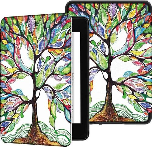 Pokrowiec Etui Graphic Kindle Paperwhite 4 - Happy Tree uniwersalny