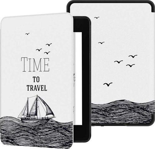 Pokrowiec Etui Graphic Kindle Paperwhite 4 - Time to Travel uniwersalny