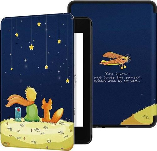 Pokrowiec Etui Graphic Kindle Paperwhite 1-3 - Child and Fox uniwersalny