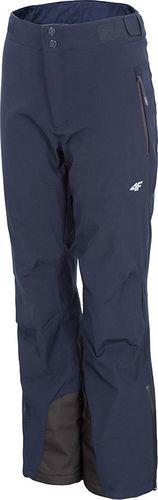 4f Spodnie narciarskie H4Z19-SPDN003 30S H4Z19-SPDN003 30S granatowy S