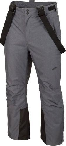 4f Spodnie narciarskie H4Z19-SPMN001 24M H4Z19-SPMN001 24M szary S