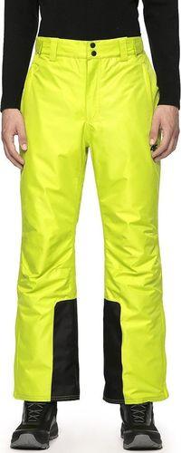 4f Spodnie narciarskie H4Z19-SPMN001 45S H4Z19-SPMN001 45S zielony XXL