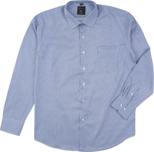 TXM TXM Koszula męska wizytowa z długim rękawem 44/45 BŁĘKITNY
