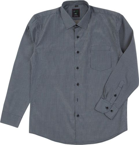 TXM TXM Koszula męska wizytowa z długim rękawem 44/45 CZARNY