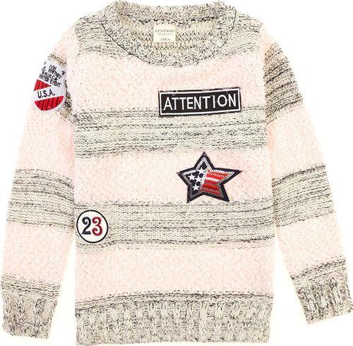 TXM TXM sweter dziewczęcy 164 JASNY RÓŻOWY
