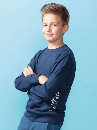 TXM TXM bluza chłopięca 134 GRANATOWY