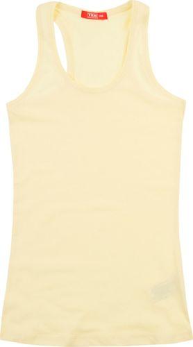 TXM TXM Bluzka dziewczęca na ramiączkach 152 ŻÓŁTY