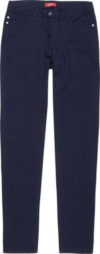 TXM TXM Spodnie damskie gładkie, casual 36 GRANATOWY