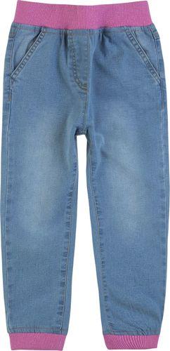 TXM TXM Spodnie dziewczęce jeansowe 116 JASNY NIEBIESKI