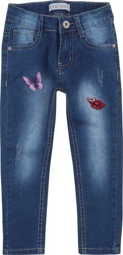 TXM TXM Spodnie dziewczęce jeansowe 4 JEANSOWY