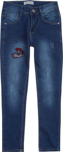 TXM TXM Spodnie dziewczęce jeansowe 6 JEANSOWY