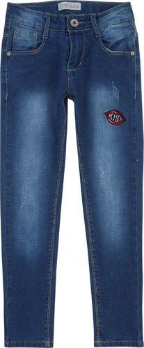 TXM TXM Spodnie dziewczęce jeansowe 8 JEANSOWY