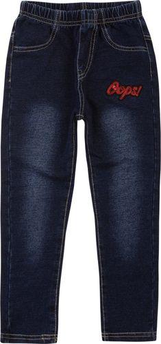 TXM TXM Spodnie dziewczęce jegginsy 3 NIEBIESKI