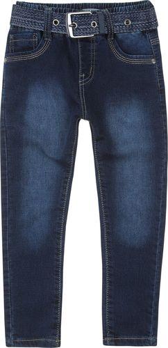 TXM TXM Spodnie chłopięce jeansowe 4 GRANATOWY