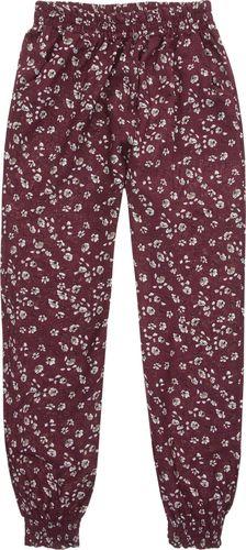 TXM TXM Spodnie dziewczęce alladynki 152 BORDOWY