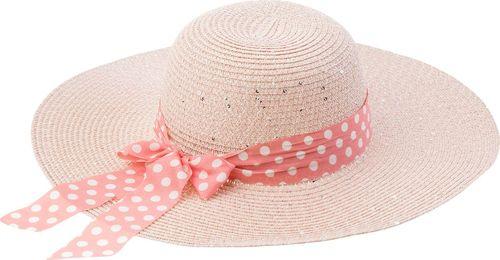 TXM TXM kapelusz damski 56 PUDROWY RÓŻOWY