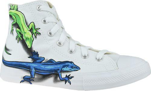 Converse Buty dziecięce Lizards Chuck Taylor All Star High Kids białe r. 31 (667943C)