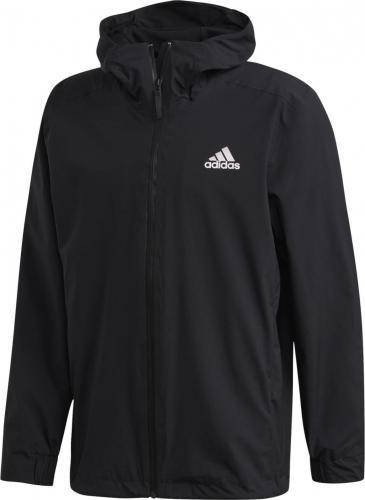 Adidas Kurtka męska BSC 3 Stripes Rain.Rdy Jacket czarna r. L (FI0574)