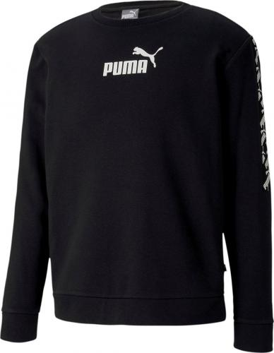 Puma Bluza męska Amplified Crew Tr czarna r. L (58139101)