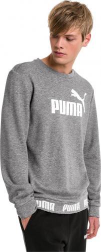 Puma Bluza męska Amplified Crew szara r. XL (85473603)