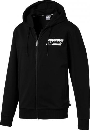 Puma Bluza męska Rebel Hooded Jacket T czarna r. L (85421801)