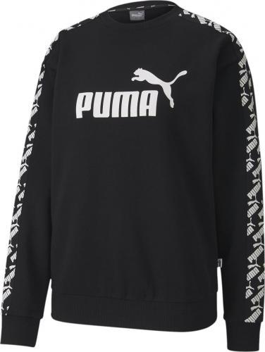 Puma Bluza damska Amplified Crew Sweat czarna r. S (58202201)