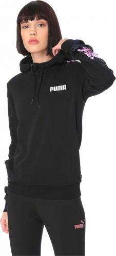 Puma Bluza damska Contrast Aop Hoody czarna r. S (57923802)