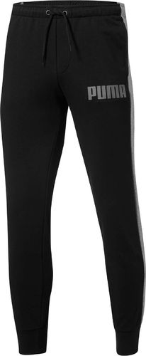 Puma Spodnie męskie Contrast Pants Ft czarne r. S (85173701)