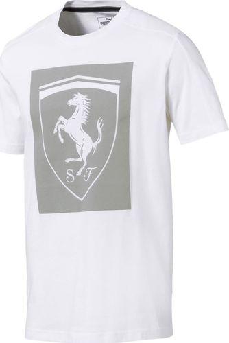 Puma Koszulka męska Ferrari Big Shield biała r. S (57668404)