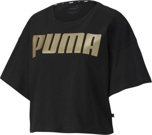 Puma Koszulka damska Rebel Fashion Tee czarna r. L (58130851)