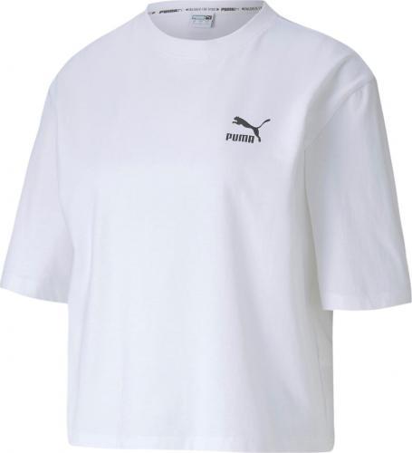 Puma Koszulka damska Tfs Graphic Tee biała r. S (59625902)