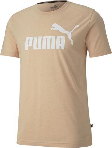 Puma Koszulka męska ESS+ heather Tee beżowa r. M (85241970)
