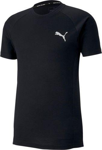 Puma Koszulka męska Evostripe Tee czarna r. L (58146501)