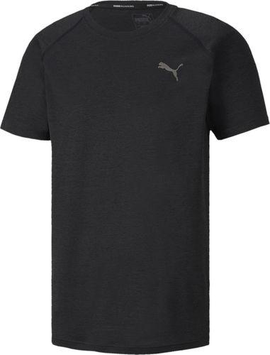 Puma Koszulka męska Heather SS Te czarna r. L (51904801)