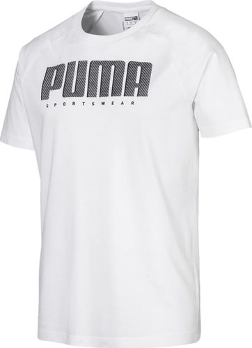 Puma Koszulka męska Athletics Tee biała r. XL (58013402)