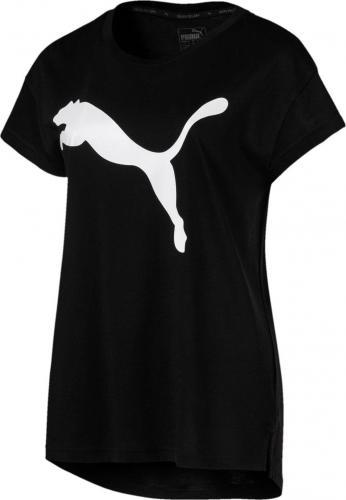 Puma Koszulka damska Active Logo Tee czarna r. M (85200651)