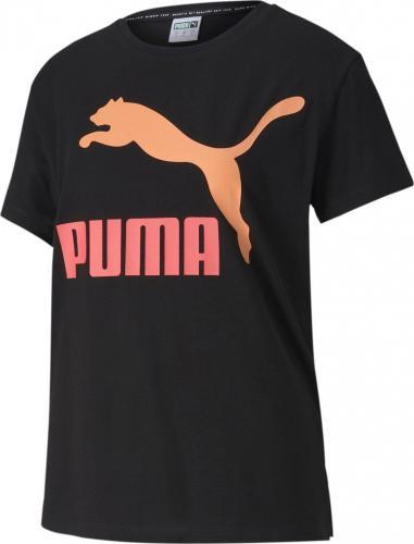 Puma Koszulka damska Classics Logo Tee czarna r. S (59551491)