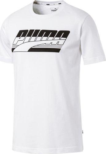 Puma Koszulka męska Rebel Basic biała r. XL (85421402)