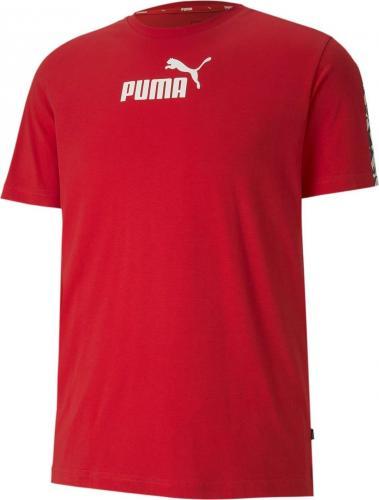 Puma Koszulka męska Amplified Tee czerwona r. L (58138411)