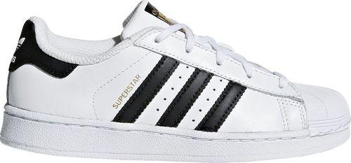 Adidas Buty dziecięce Superstar Foundation białe r. 28.5 (BA8378)