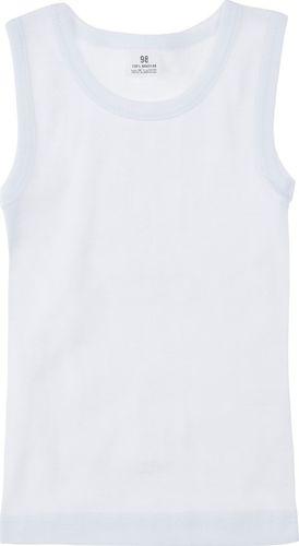 TXM TXM Koszulka chłopięca podkoszulek 98 BIAŁY