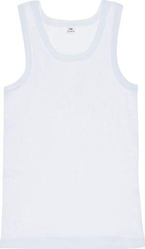 TXM TXM Koszulka chłopięca podkoszulek 158 BIAŁY
