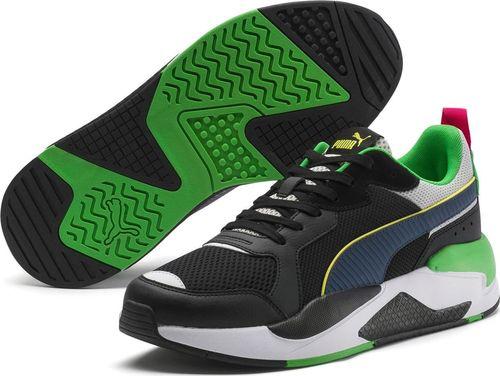 Puma Buty męskie X-Ray czarno-zielone r. 44.5 (37260206)